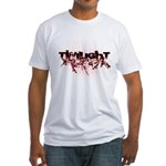 Twilight Organic by Twidaddy Fitted T-Shirt