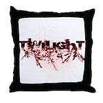 Twilight Organic by Twidaddy Throw Pillow