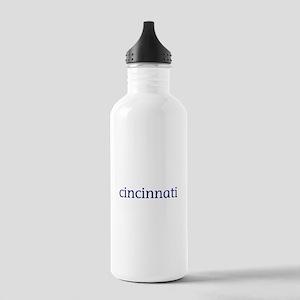 Cincinnati Stainless Water Bottle 1.0L