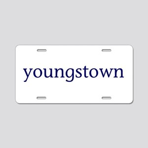 Youngstown Aluminum License Plate