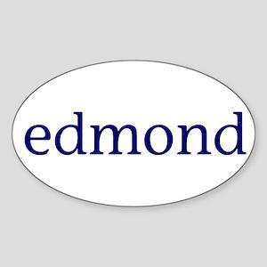 Edmond Sticker (Oval)