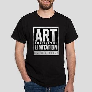 Art Limits Black T-Shirt