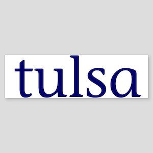 Tulsa Sticker (Bumper)