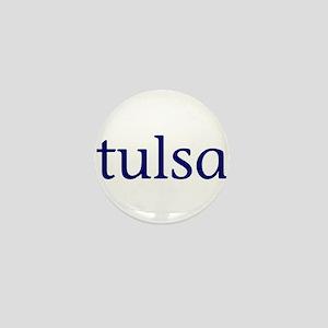 Tulsa Mini Button