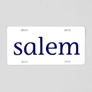 Salem Aluminum License Plate