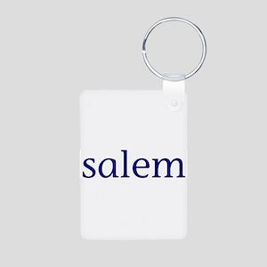 Salem Aluminum Photo Keychain