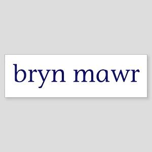 Bryn Mawr Sticker (Bumper)