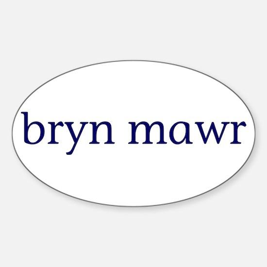 Bryn Mawr Sticker (Oval)