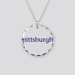 Pittsburgh Necklace Circle Charm