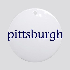 Pittsburgh Ornament (Round)