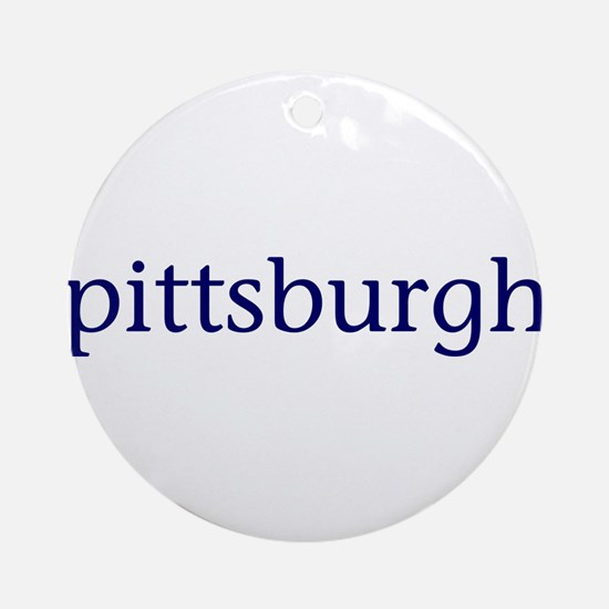 Pittsburgh Ornament (Round)