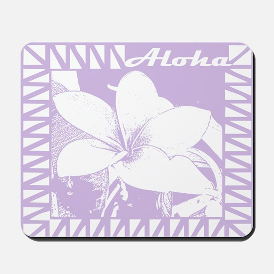 ALOHA Flower Mousepad