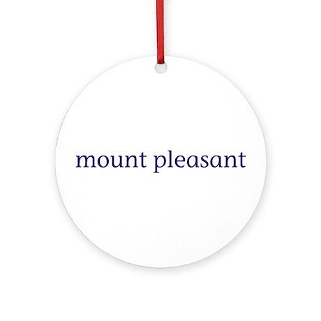 Mount Pleasant Ornament (Round)