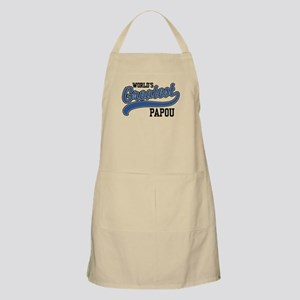 World's Greatest Papou Light Apron