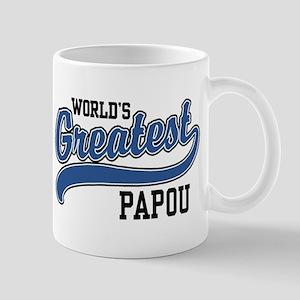 World's Greatest Papou 11 oz Ceramic Mug