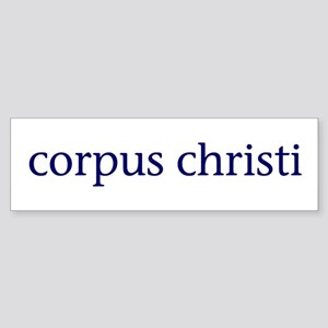 Corpus Christi Sticker (Bumper)