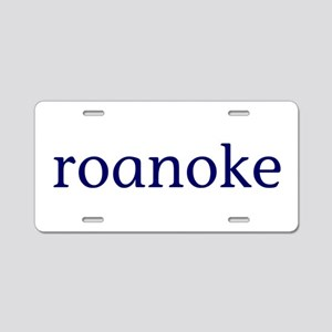 Roanoke Aluminum License Plate