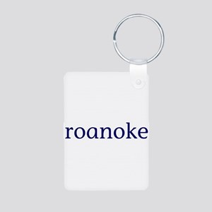 Roanoke Aluminum Photo Keychain
