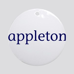 Appleton Ornament (Round)