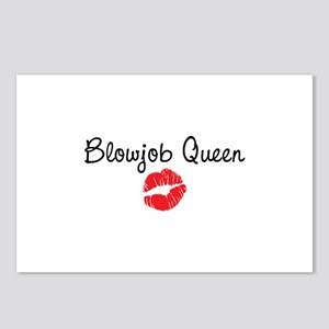 Blowjob Queen Postcards (Package of 8)