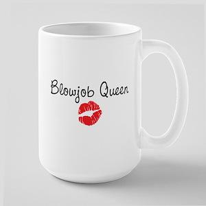 Blowjob Queen Large Mug