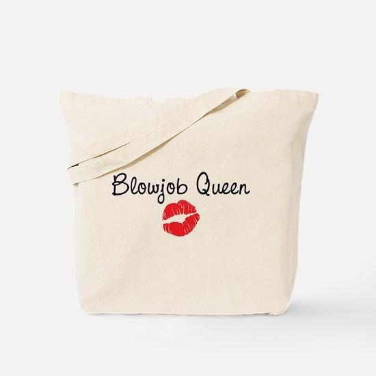 Blowjob Queen Tote Bag