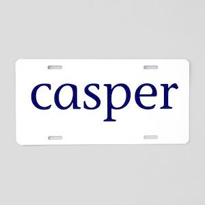 Casper Aluminum License Plate