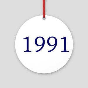 1991 Ornament (Round)