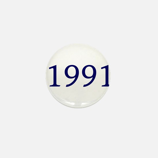 1991 Mini Button