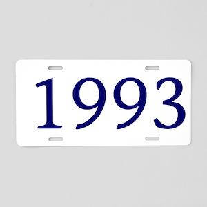 1993 Aluminum License Plate