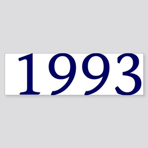 1993 Sticker (Bumper)
