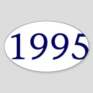 1995 Sticker (Oval)