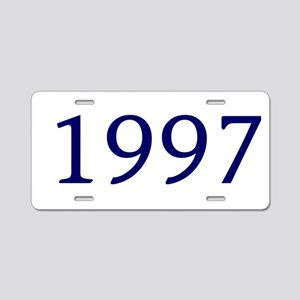 1997 Aluminum License Plate