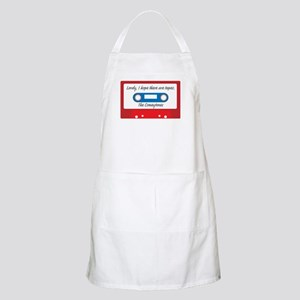 Lordy, I hope there are tapes Light Apron