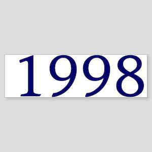 1998 Sticker (Bumper)