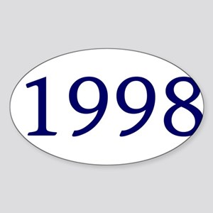1998 Sticker (Oval)