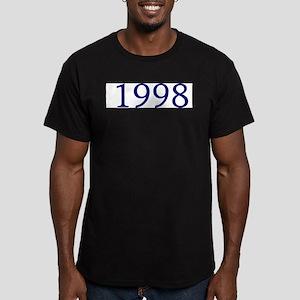 1998 Men's Fitted T-Shirt (dark)