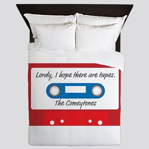 Lordy, I hope there are tapes Queen Duvet