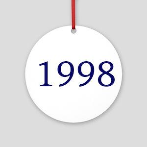 1998 Ornament (Round)