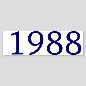 1988 Sticker (Bumper)