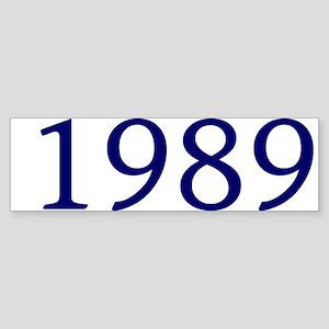 1989 Sticker (Bumper)