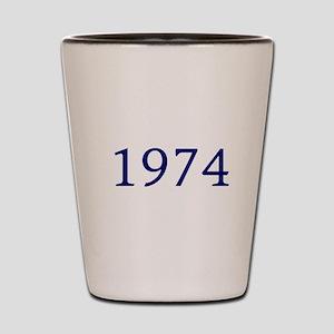 1974 Shot Glass