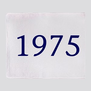 1975 Throw Blanket