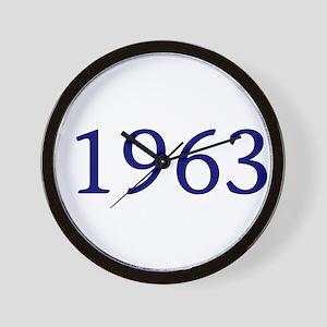 1963 Wall Clock