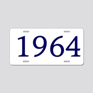 1964 Aluminum License Plate
