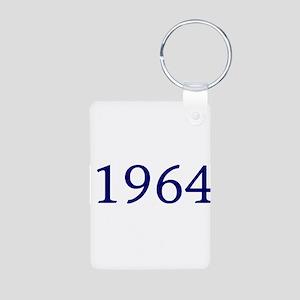 1964 Aluminum Photo Keychain