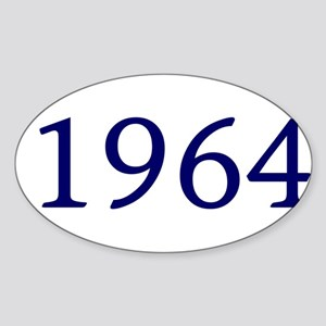 1964 Sticker (Oval)