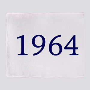 1964 Throw Blanket