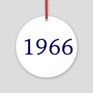 1966 Ornament (Round)