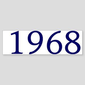 1968 Sticker (Bumper)
